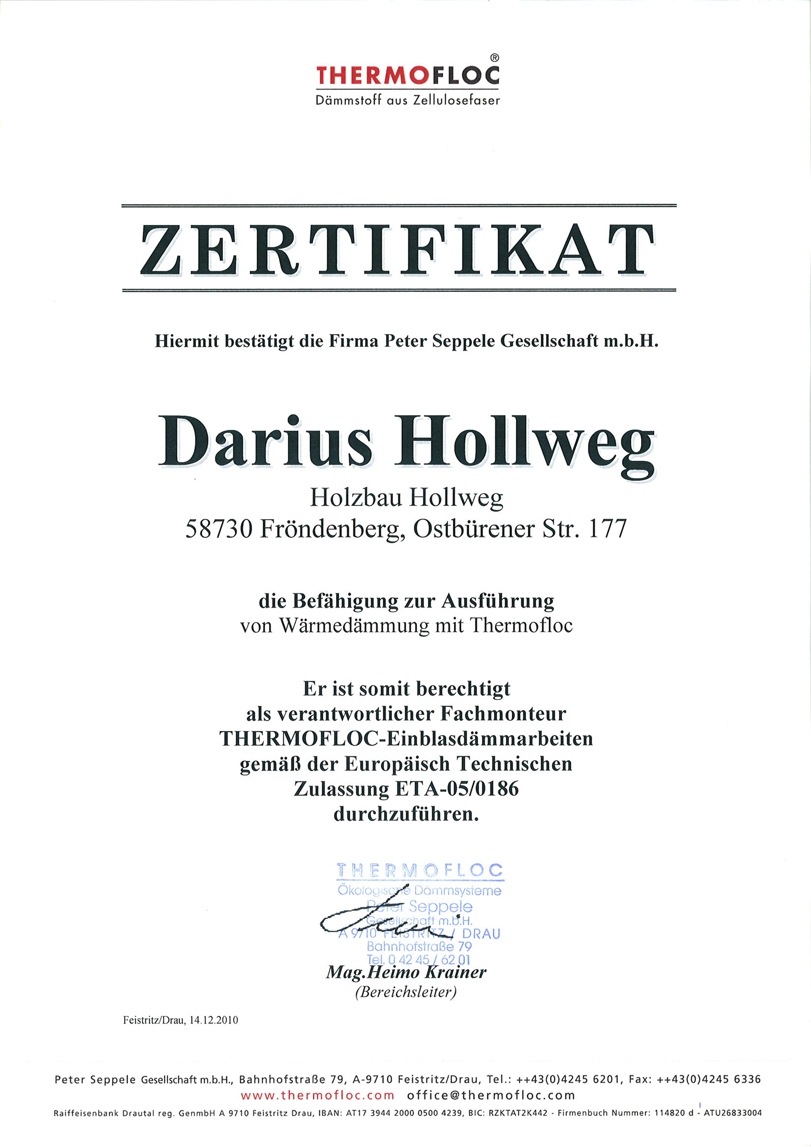 Zertifikat-Hollweg-Thermofloc